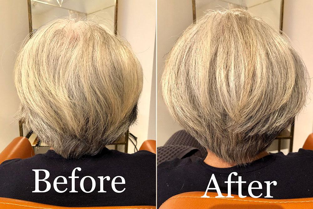 南森町の美容院(美容室)コハク 頭皮環境改善ヘッドスパ